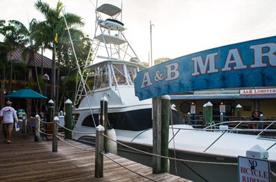 A&B Marina in Key West Florida